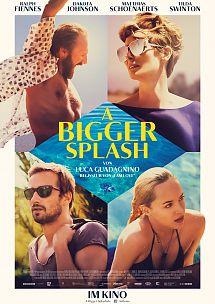 Filmplakat A BIGGER SPLASH