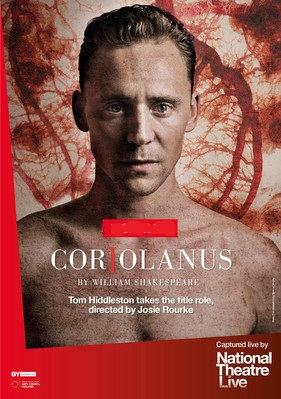 Filmplakat National Theatre London: W. Shakespeare: CORIOLANUS - engl. OF