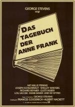 Filmplakat Das Tagebuch der Anne Frank (1959)