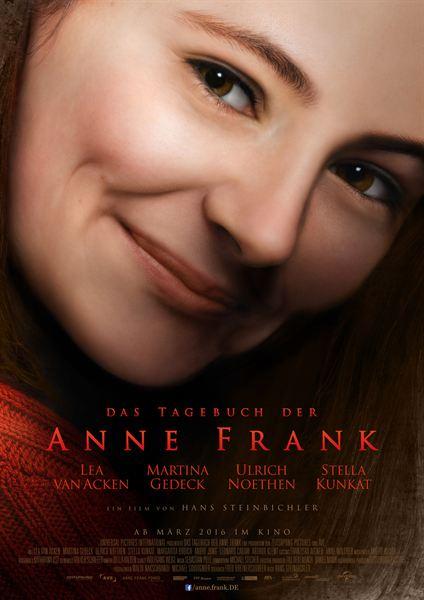 Filmplakat Das Tagebuch der Anne Frank (2016)