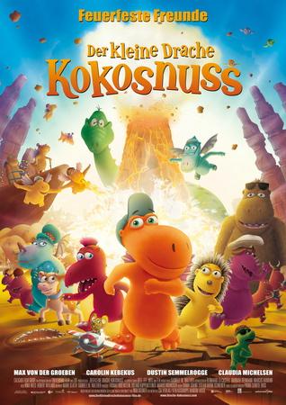 Filmplakat Der kleine Drache Kokosnuss