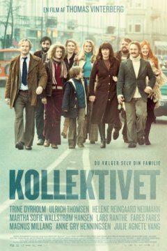 Filmplakat Die Kommune - KOLLEKTIVET - dän. OmU