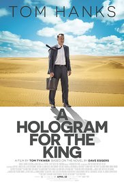 Filmplakat Ein Hologramm für den König - A HOLOGRAM FOR THE KING - engl. OmU