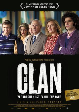 Filmplakat EL CLAN - Verbrechen ist Familiensache
