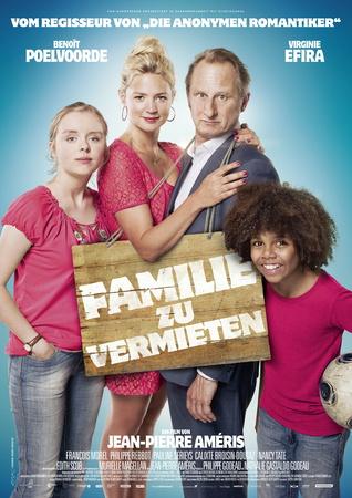 Filmplakat Familie zu vermieten