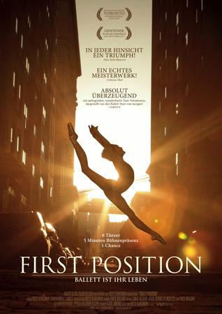 Filmplakat FIRST POSITION - Ballett ist ihr Leben