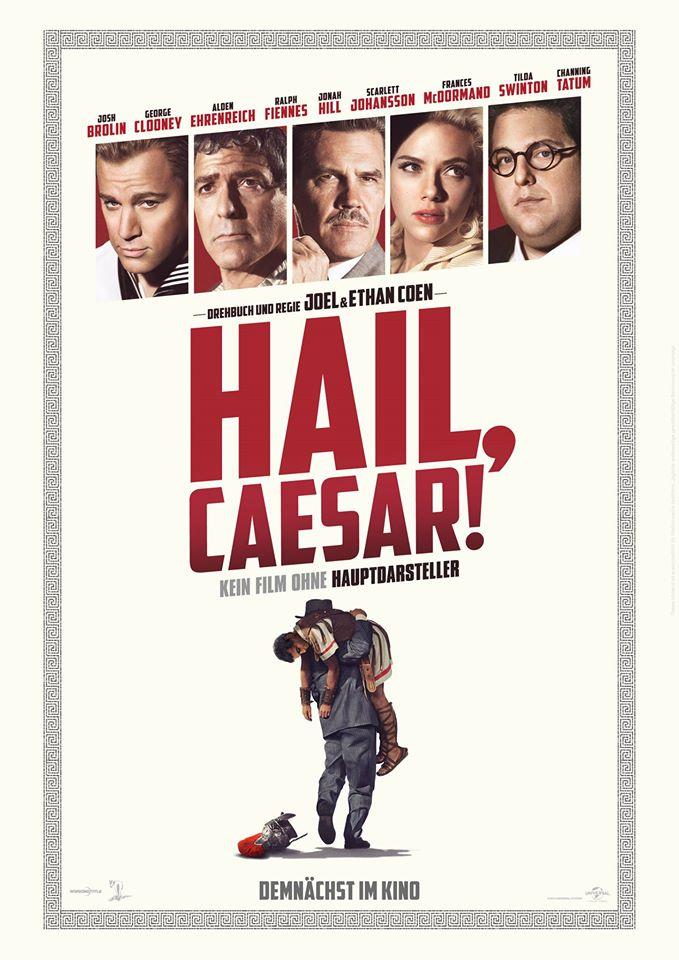 Filmplakat HAIL, CAESAR!