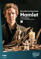 Filmplakat National Theatre, London:  HAMLET mit Benedict Cumberbatch