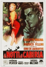 Filmplakat Die Nächte der Cabiria / Le Notti di Cabiria - ital. OmU