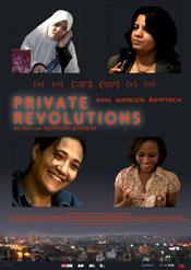 Filmplakat PRIVATE REVOLUTIONS Jung, Weiblich, Ägyptisch - OmU