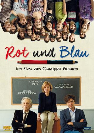Filmplakat Rot und Blau - IL ROSSO E IL BLU - ital. OmU