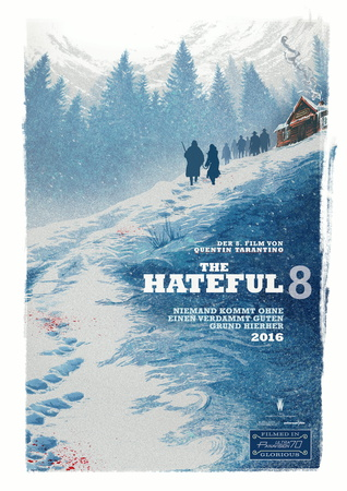 Filmplakat THE HATEFUL 8 - engl. OmU