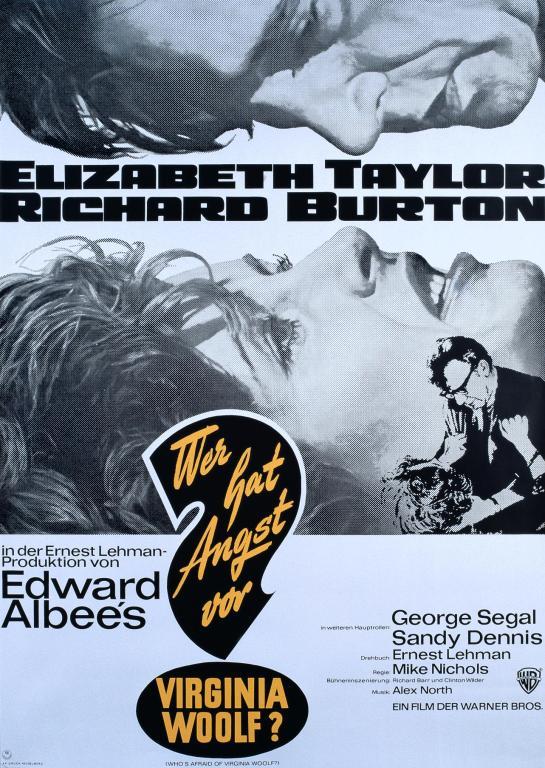 Filmplakat Wer hat Angt vor Virgina Woolf?