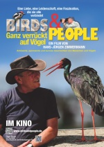 Filmplakat Birds and People - Ganz verrückt auf Vögel