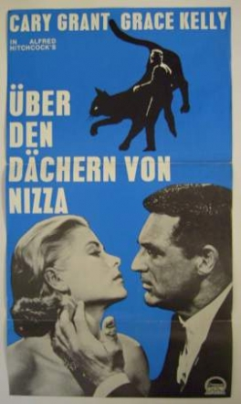 Filmplakat Über den Dächern von Nizza - To Catch a Thief (OmU)