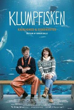 Filmplakat Der Mondfisch - KLUMPFISKEN - dän. OmU