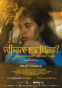 Filmplakat Where to, Miss? - Eine Frau kämpft für ihren Traum