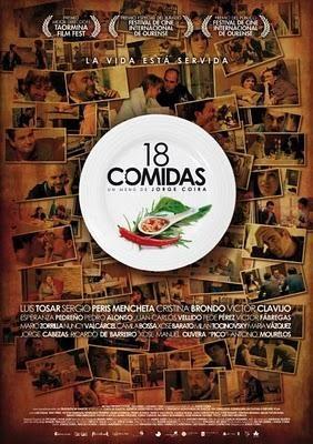 Filmplakat CINESPAÑOL: 18 comidas