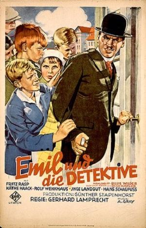 Filmplakat Emil und die Detektive (1931)