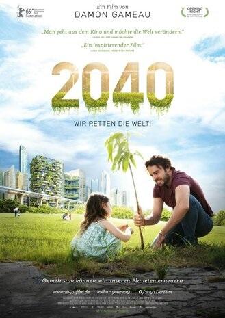Filmplakat 2040 - Wir retten die Welt