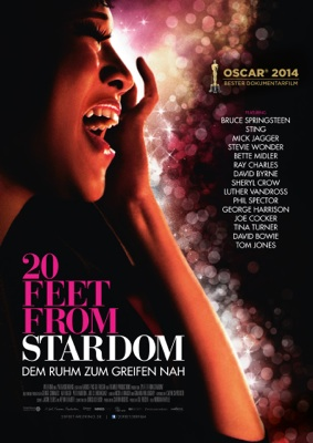 Filmplakat 20 Feet From Stardom OmU