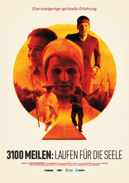 Filmplakat 3100 Meilen: Laufen für die Seele