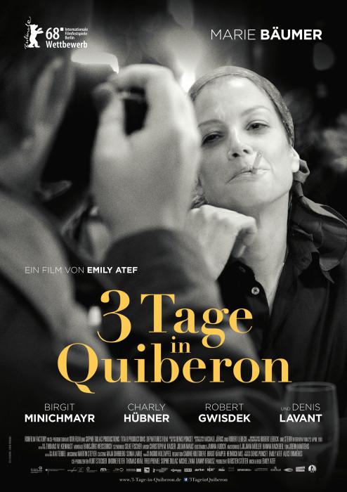 Filmplakat 3 Tage in Quiberon