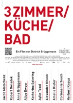 Filmplakat 3 Zimmer Küche Bad