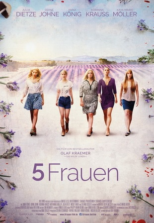 Filmplakat 5 Frauen