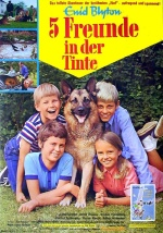 Filmplakat 5 Freunde in der Tinte