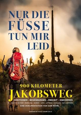 Filmplakat 900km Jakobsweg - Nur die Füße tun mir leid