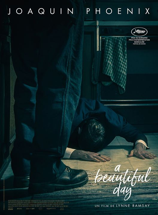 Filmplakat A BEAUTIFUL DAY - YOU WERE NEVER REALY HERE - engl. OmU