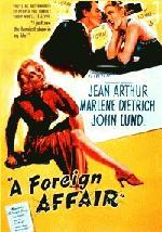 Filmplakat A FOREIGN AFFAIR - Eine auswärtige Affäre - engl. OmU