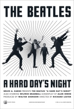 Filmplakat A HARD DAYS NIGHT - engl. OmU