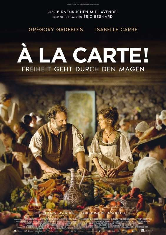 Filmplakat À LA CARTE - Freiheit geht durch den Magen