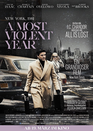 Filmplakat A MOST VIOLENT YEAR