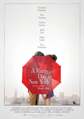 Filmplakat A RAINY DAY IN NEW YORK - engl. OmU