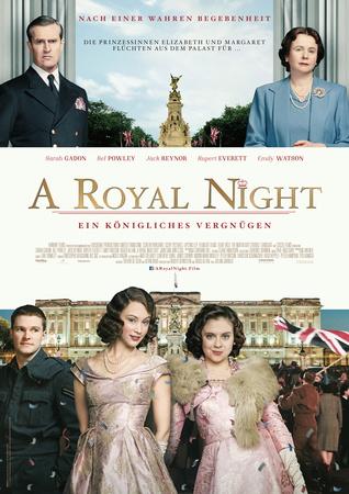 Filmplakat A ROYAL NIGHT - Ein königliches Vergnügen