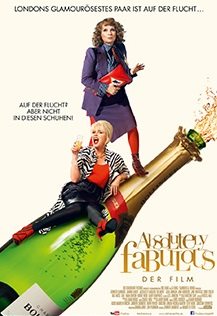 Filmplakat ABSOLUTELY FABULOUS - Der Film