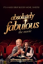 Filmplakat Absolutely Fabulous-THE MOVIE - engl. OmU