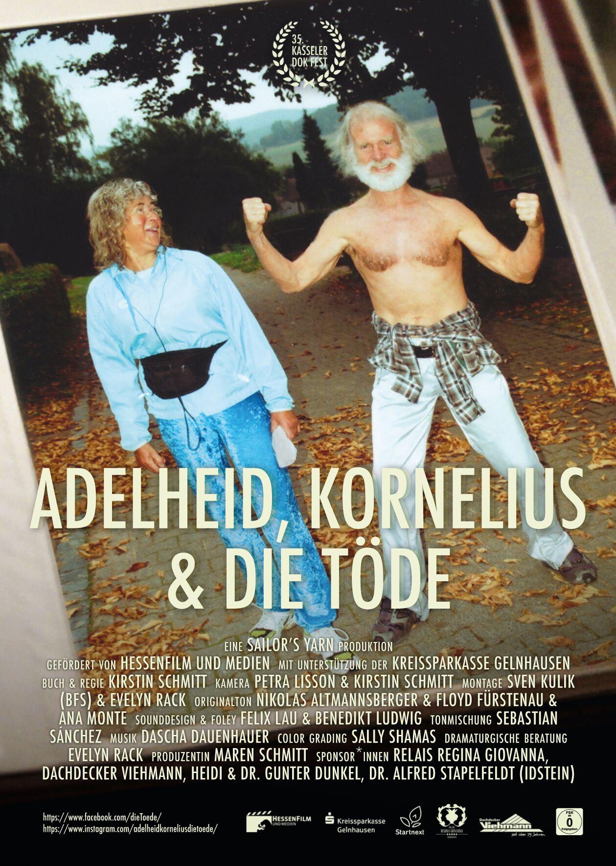 Filmplakat Adelheid, Kornelius & die Töde