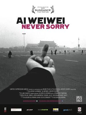 Filmplakat Ai Weiwei: NEVER SORRY (OmU)