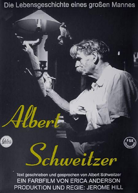 Filmplakat Albert Schweitzer (1957) - restaurierte Fassung!