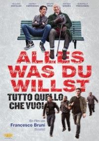 Filmplakat Alles was Du willst - TUTTO QUELLO CHE VUOI - ital. OmU
