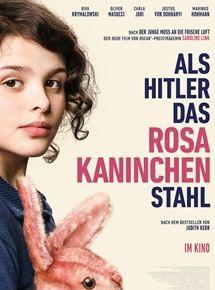 Filmplakat Als Hitler das rosa Kaninchen stahl