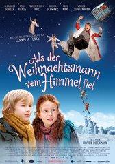 Filmplakat Als der Weihnachtsmann vom Himmel fiel