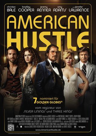 Filmplakat AMERICAN HUSTLE