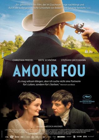 Filmplakat AMOUR FOU