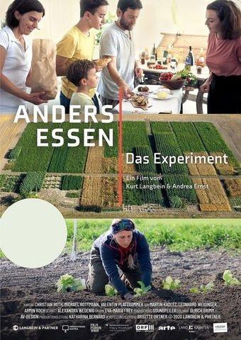 Filmplakat ANDERS ESSEN - Das Experiment