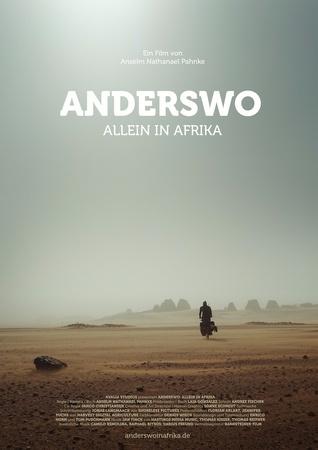 Filmplakat Anderswo. Allein in Afrika